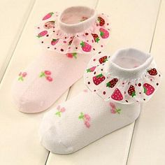 Treat your baby girl like a princess with this cute Princess baby lace sock https://www.thegiftgap.com/products/cute-short-cotton-socks-summer-princess-baby-lace-socks-white-pink  #kidgifts #giftideas