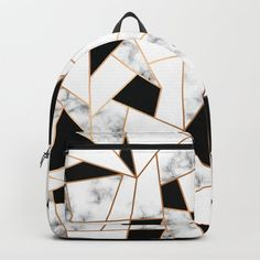Marble III 003 Backpack by bluelela Cute Backpacks For School, Cute School Bags, Cute Mini Backpacks, Stylish Backpacks, Girl Backpacks, Baskets Louis Vuitton, Cute Luggage, Girls Bags, Backpack Purse