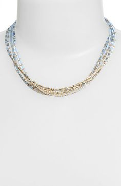 Chan Luu Multistrand Beaded Necklace available at #Nordstrom