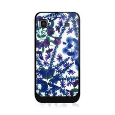 Blue And Purple Flowers Samsung Galaxy S Case