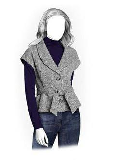(9) Name: 'Sewing : Jacket Sewing Pattern 5915