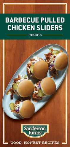 These family friendly sandwiches may be small but their flavor is huge. Ready in just 40 minutes and feeding 6 people, they are the perfect dinner for the whole family. Slider Recipes, My Recipes, Crockpot Recipes, Chicken Recipes, Cooking Recipes, Favorite Recipes, Health Recipes, Health Tips, Sandwiches