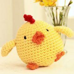 "Crochet Easter chicken in ""Paris"" Amigurumi - Amigurumi Crochet Animals - doitory Crochet Easter, Easter Crochet Patterns, Crochet For Kids, Crochet Design, Crochet Amigurumi Free Patterns, Crochet Dolls, Free Crochet, Free Knitting, Knitting Patterns"