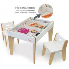 Pkolino Little Modern Kids Table And Chairs White Pkffmtcwh Toddler