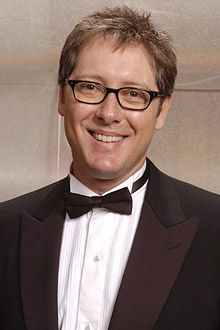 """2004 - James Spader, winner of Outstanding Lead Actor in a Drama Series for """"The Practice"""" - The 56th Annual Primetime Emmy Awards."""