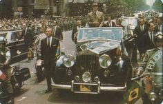 AMÉRICA LATINA | Autos presidenciales | Carros presidenciais - Página 6 - Charles De Gaulle, Rio de Janeiro, 1964 em carro da Presidência da república Brasileira