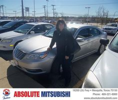 #HappyAnniversary to Quinn Clawson on your 2011 #Chrysler #200 from Larry Green  at Absolute Mitsubishi!