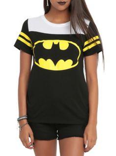 DC Comics Batman Gotham City Girls Hockey T-Shirt