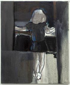 The View Marlene Dumas 1953 Capetown (ZA) Datering: 1992 Materiaal en techniek: olieverf op doek Afmetingen: 60,5 x 50,5 x 2,6 cm Van Abbemuseum: collectie