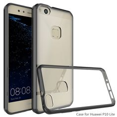 """For Huawei P10 Lite Case Crystal Hybrid Bumper Clear Hard Acrylic Armor Back Cover For Huawei P 10 Lite  5.2"""" Coque Fundas Capa #Affiliate"""