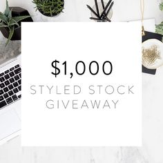 I am SO excited about what I am about to share!  In anticipation of the new year we want to give TWO #bossladies a fresh visual start to their website and brand and set them up for a year of doing business beautifully by giving away $1000 total in free styled stock photography! This is the biggest giveaway we have EVER done and it begins today and ends on Dec 31st.  Here's how to enter:  1) Follow the @scstockshop on IG  2) Sign up to receive free monthly styled stock images through the…