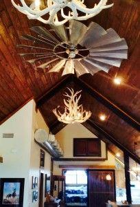 Windmill Ceiling Fans Fan Home Barn House Plans