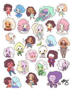 birduyen:  gems stickers!! available here :)