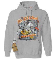 All About Firefighting Adult Hoodie Sweatshirt