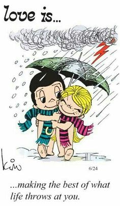 Sunshine in the rain... | Love Is... | Pinterest | We are together, Navidad and Running in the rain