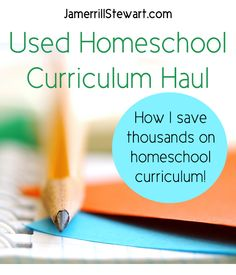 How I've saved thousands of dollars on homeschooling curriculum by checking for homeschool deals, working used curriculum sales, waiting before I purchase, and more.