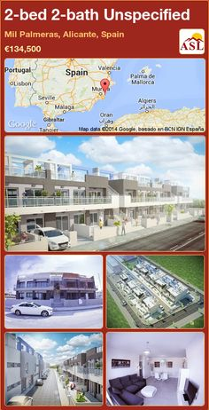Unspecified in Mil Palmeras, Alicante, Spain Valencia, Portugal, Alicante Spain, Security Door, Open Plan Kitchen, Murcia, Ground Floor, Terrace, Bath