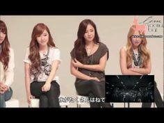 【中字】少女時代看自己MV的反應 the act of SNSD watching their own music videos