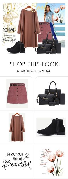 """""""ROMWE 4"""" by aida-1999 ❤ liked on Polyvore featuring WALL"""