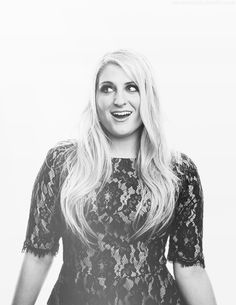 meghan trainor black and white - Google Search