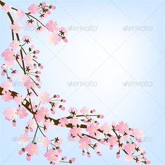 Spring Background with Blooming Tree #GraphicRiver Spring background with blooming tree brunch frame. Vector illustration, fully editable, vector objects separated and grouped. Editable EPS 8 Vector illustrations. Icluded files: .EPS, .JPEG 4900*4900 px. Created: 21March13 GraphicsFilesIncluded: JPGImage #VectorEPS Layered: No MinimumAdobeCSVersion: CS Tags: art #beauty #black #blooming #blossom #branch #cherry #color #decoration #design #elegance #floral #flower #forest #frame #garden…