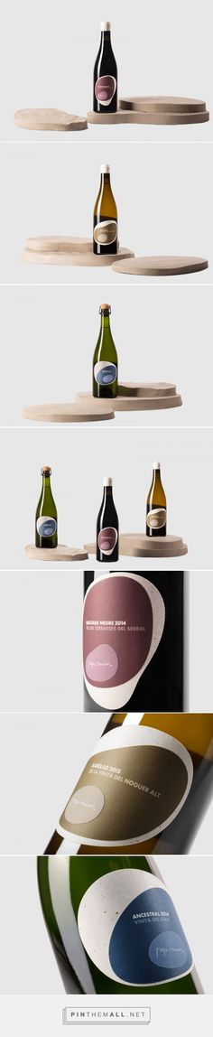 Natural Wines by Pepe Raventós - Packaging of the World - Creative Package Design -  http://www.packagingoftheworld.com/2017/07/natural-wines-by-pepe-raventos.html