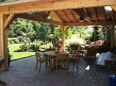 images covered outdoors living area | Interior of rustic covered patio in Columbus, OH - Covered Patios ...