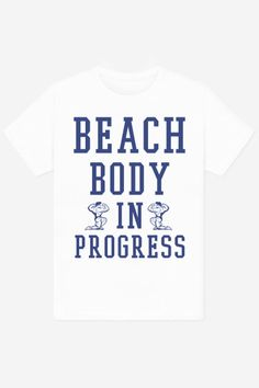 Beach Body In Progress - 19,90€ available on rad.co