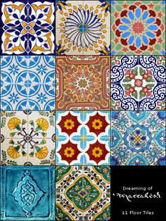 Christmas in July 2011 Gifts - beautiful floor tiles Arabesque, Mosaic Tiles, Wall Tiles, Tile Design, Pattern Design, Traditional Tile, Arabic Design, Arabian Nights, Christmas In July