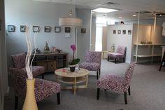Studio reception area.