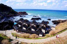 Lamp No Yado Ryokan ランプの宿, facing the Sea of Japan. Noto Hanto, Ishikawa-ken With an open air bath facing the Sea of Japan in the balcony + private bath available for reservation.