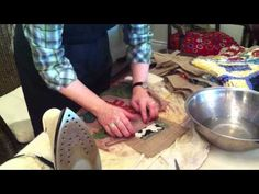 Binding a rug (with Deanne Fitzpatrick & friends)