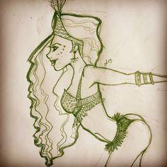 Samba dancer