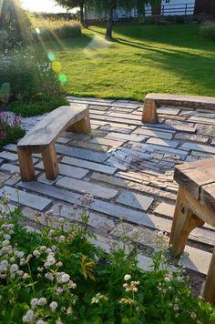 Drought Tolerant Landscape, Modern Garden Design, Outdoor Entertaining, Shade Garden, Traditional House, Stepping Stones, Backyard, Architekti, Outdoor Decor
