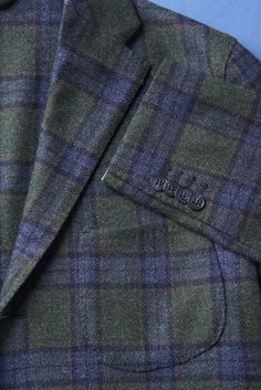 Jacket MICHELANGELO by ISAIA  Wool Loro Piana