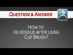 Q&A: ZBrush Clip Brush issue & solution - YouTube