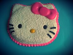 Hello kitty cake  For Sophia's birthday I'm going to make