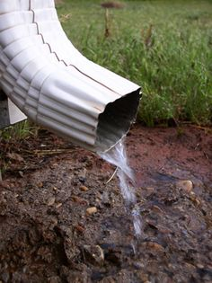 Do you have a problem with standing water in the crawlspace of your home? Find out if crawlspace waterproofing is a DIY job or if it should be left to a professional. Yard Drainage System, Rock Drainage, Gutter Drainage, Backyard Drainage, Backyard Landscaping, Landscaping Ideas, Roof Drain, Organic Lawn Care, Drainage Solutions