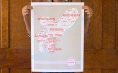 Love the graphic style of these maps. Wish they had more cities. www.shop.theserethings.com