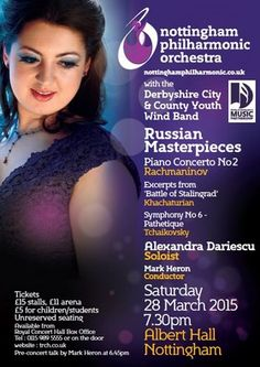 March 2015 Russian Masterpieces Concert at Albert Hall