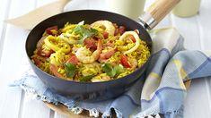 Easy Seafood Breyani with Prawns, Hake and Calamari