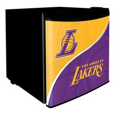 Los Angeles Lakers Nba Dorm Room Refrigerator