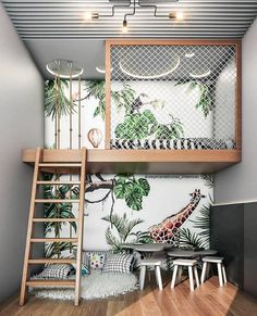 loft bed decorating ideas are great saving space furniture for small condos, apa. loft bed decorating ideas are great saving space furniture for small condos, apartments and dorms, Loft Bed Decorating Ideas, Apartments Decorating, Decorating Websites, Decor Room, Bedroom Decor, Home Decor, Loft In Bedroom, Jungle Bedroom, Master Bedroom