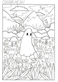 Cartoon pages cartoon coloring pages free printable aesthetic page dinosaur color easy halo cartoon character coloring Tumblr Coloring Pages, Cute Coloring Pages, Cartoon Coloring Pages, Printable Coloring Pages, Coloring Pages For Kids, Free Coloring, Coloring Books, Chinese Drawings, Art Drawings