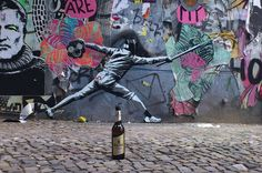 Streetart: Stencils and Paste-Ups von DECYCLE (14 Pictures) > Illustrationen, Paintings, Streetstyle, urban art > bochum, cutouts, decycle, germany, paste-ups, stencils, streetart
