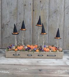 Banya-tanya - Halloween asztaldísz, Dekoráció, Otthon, lakberendezés, Ünnepi dekoráció, Meska