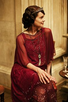 Elizabeth McGovern as Lady Cora Crawley in Downton Abbey (TV Series 2013)