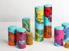 Fortnum & Mason's Biscuits Redesigned on Packaging of the World - Creative Package Design Gallery