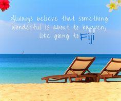 Fiji - safe, sunny and simply stunning!