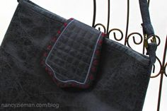 Eileen Roche and Nancy Zieman share on TV's Sewing With Nancy how to stitch and embroider Designer Handbags with ease. You are in the right place about diy purse craft Here we offer you the most beaut Diy Purse From Shirt, Diy Purse With Pockets, Diy Purse Easy, Diy Purse Strap, Fabric Tote Bags, Fabric Purses, Sewing With Nancy, Nancy Zieman, Handbag Patterns